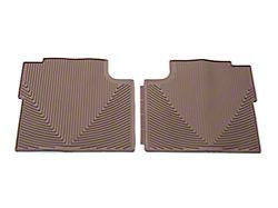 Weathertech All Weather Rear Rubber Floor Mats - Tan (15-19 F-150 SuperCrew)