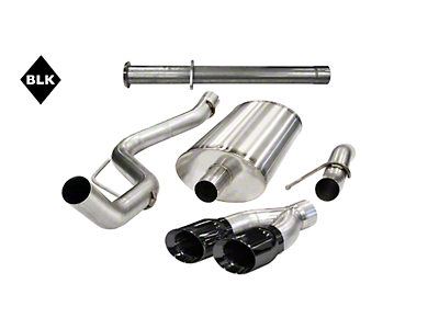Corsa 3 in. Xtreme Single Side Exit Cat-Back Exhaust - Black Pro-Series Tip (11-14 6.2L Raptor)