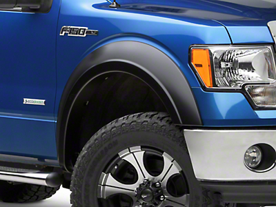 Bushwacker Extend-A-Fender Flares - Matte Black (09-14 F-150 Styleside, Excluding Raptor)