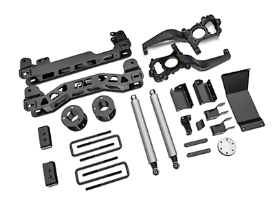 Rough Country 4 in. Suspension Lift Kit (15-18 4WD F-150, Excluding Raptor)
