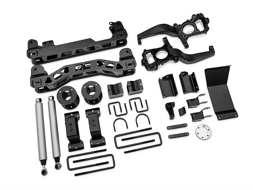 Rough Country 5 in. Suspension Lift Kit (15-18 4WD F-150, Excluding Raptor)