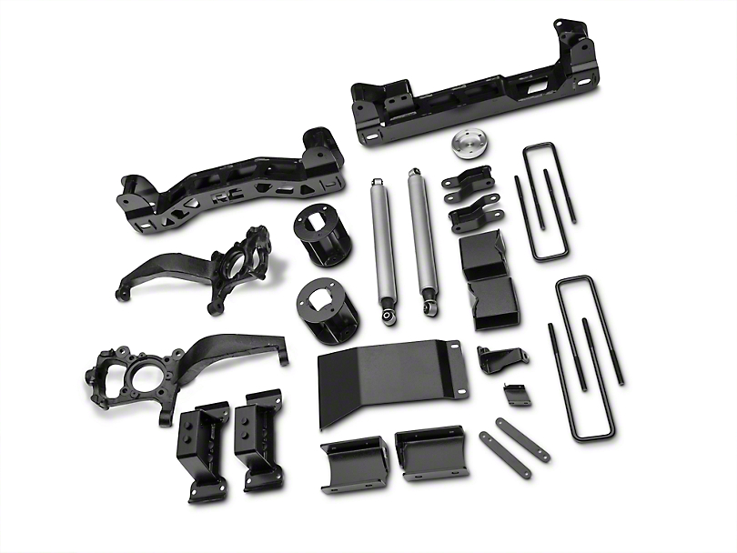 Rough Country 6 in. Suspension Lift Kit (15-18 4WD, Excluding Raptor)