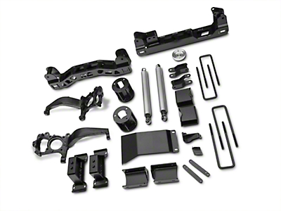 Rough Country 6 in. Suspension Lift Kit (15-18 4WD F-150, Excluding Raptor)