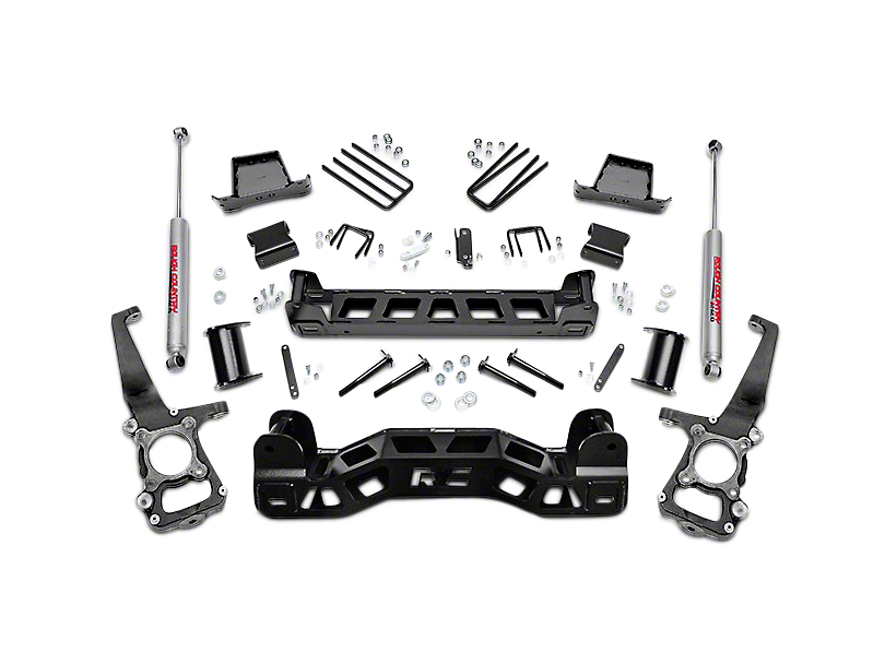 Rough Country F-150 6 in. Suspension Lift Kit w/ Upper