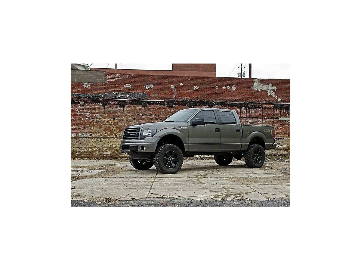 Rough Country 6 in  Suspension Lift Kit w/ Upper Strut Spacers (11-14  2WD/4WD F-150, Excluding Raptor)