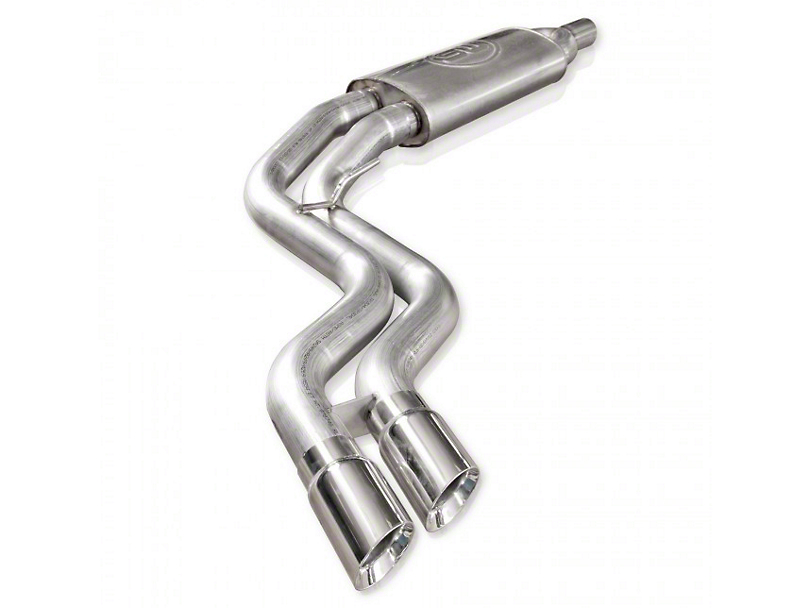 Stainless Works Lightning Mid-Side Exit Exhaust - Factory Connect (11-14 6.2L Raptor SuperCrew)