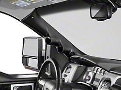 Auto Meter Pillar Gauge Pod with Speaker Cutout; Dual (09-14 F-150)