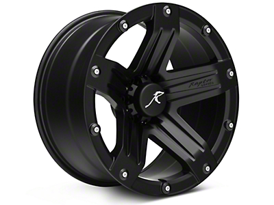 Raptor Series Indecent Exposure Matte Black 6-Lug Wheel - 20x10 (04-18 All)