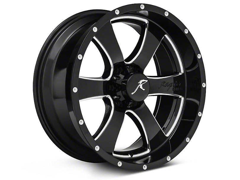 Raptor Series Criminally Insane Gloss Black 6-Lug Wheel - 20x9 (04-18 F-150)