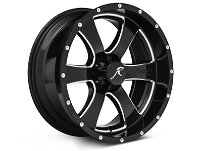 Raptor Series Criminally Insane Gloss Black 6-Lug Wheel - 20x9 (04-18 All)