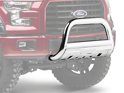 Barricade 3.5 in. Bull Bar - Polished Stainless (04-18 All, Excluding Raptor)