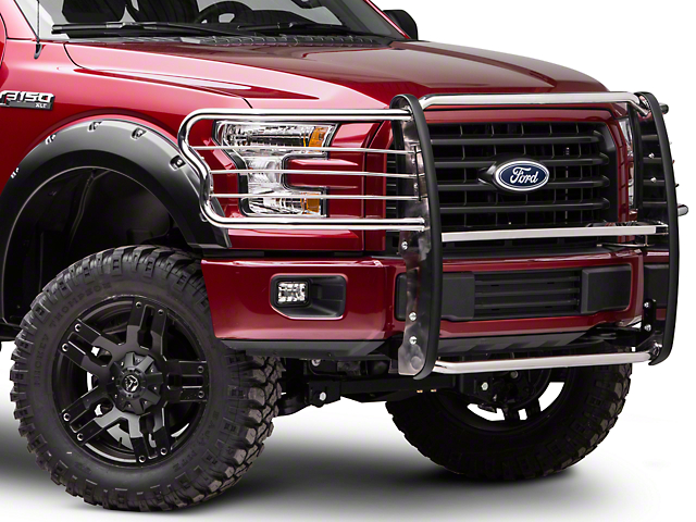 Barricade Brush Guard - Stainless Steel (15-17 F-150, Excluding Raptor)