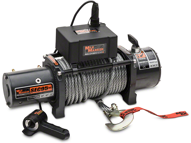 Mile Marker SEC9.5 ES 9,500 lb. Waterproof Electric Winch (97-17 All)