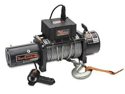 Mile Marker SEC15 ES 15,000 lb. Waterproof Electric Winch (97-17 All)