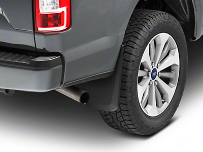 Husky Custom Molded Rear Mud Guards (15-17 w/ OE Fender Flares)