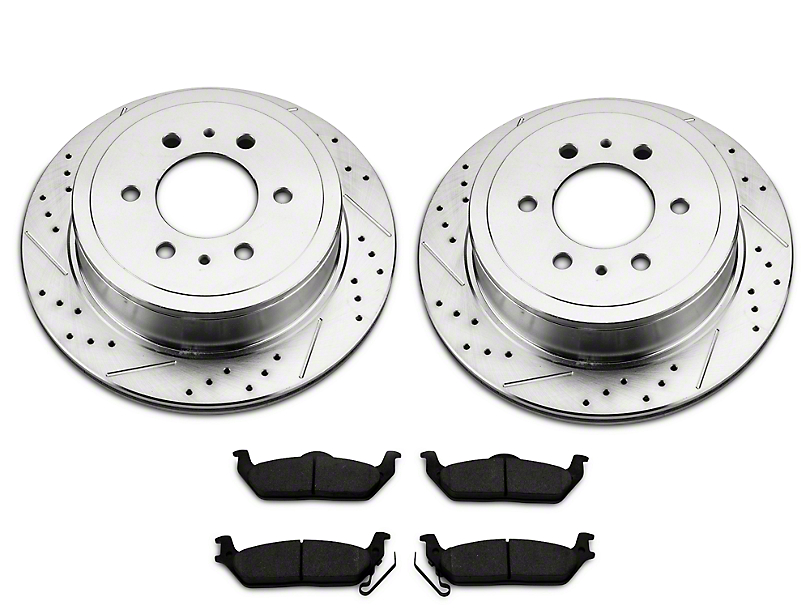 Power Stop Z23 Evolution Sport 6-Lug Brake Rotor & Pad Kit - Rear (04-18 2WD/4WD F-150)