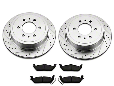 Power Stop Z23 Evolution Sport Brake Rotor & Pad Kit - Rear (12-14 6-Lug; 15-17 w/ Manual Parking Brake)