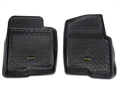 Barricade Front Floor Liners - Black (11-14 All)