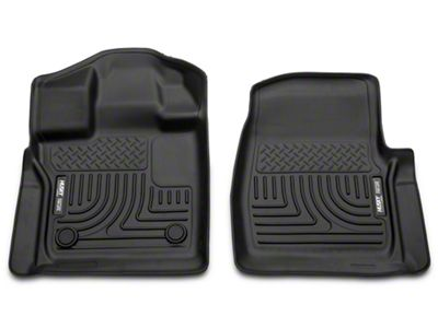 Husky Weatherbeater Front Floor Liner - Black (15-19 F-150 SuperCab, SuperCrew)