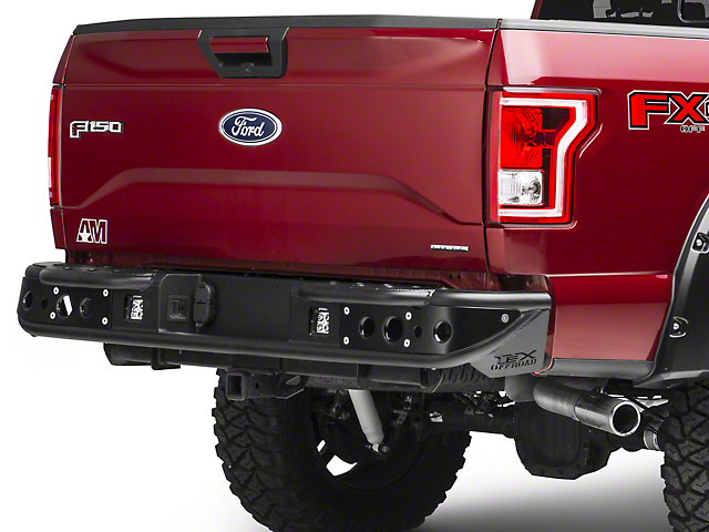LEX Motorsports Assault 2 Rear Bumper (15-17 All, Excluding Raptor)