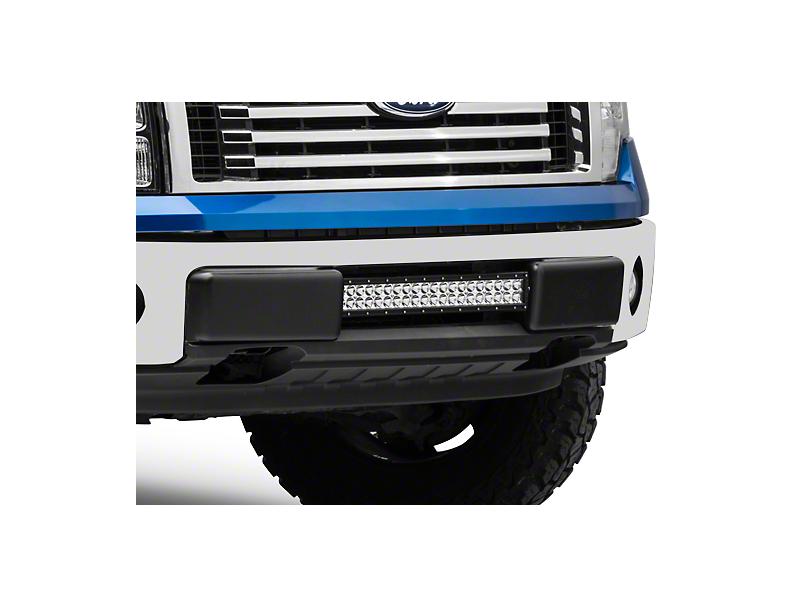 Rigid Industries 20 in. E-Series or SR-Series Light Bar Center Bumper Mounting Bracket (09-14 F-150, Excluding Raptor)