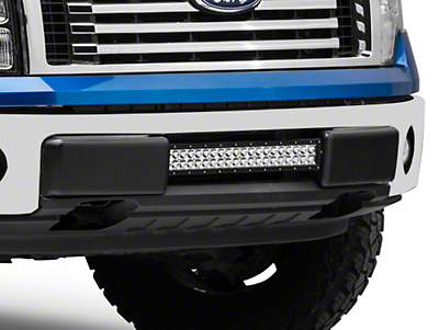 Rigid Industries 20 in. E-Series or SR-Series Light Bar Center Bumper Mounting Bracket (09-14 All, Excluding Raptor)