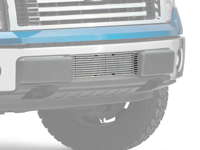 T-REX Billet Series Lower Bumper Grille Insert - Polished (09-14 F-150, Excluding Raptor, Harley Davidson & 2011 Limited)