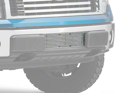 T-REX Billet Series Lower Bumper Grille Insert - Polished (09-14 All, Excluding Raptor, Harley Davidson & 2011 Limited)