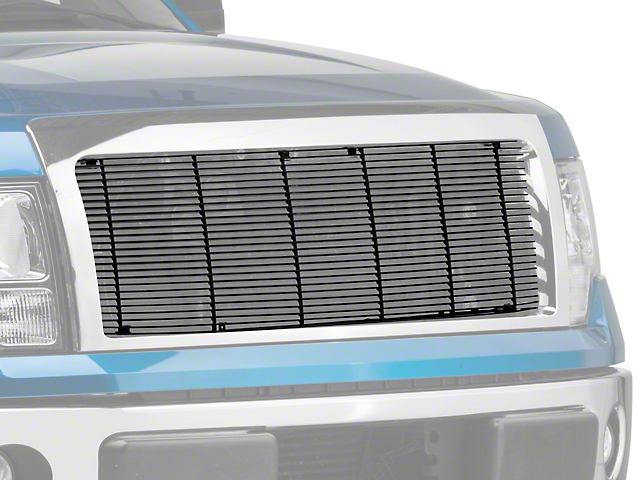 T-REX Billet Series 1-Piece Upper Grille Insert - Black (09-14 STX, XL, XLT, FX2, FX4; 13-14 King Ranch, Lariat, Limited)