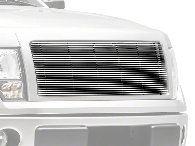 T-REX Billet Series 1-Piece Upper Grille Insert - Polished (09-14 STX, XL, XLT, FX2, FX4; 13-14 King Ranch, Lariat, Limited)