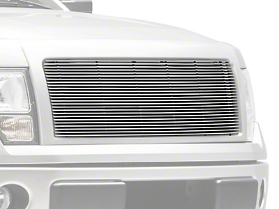 T-REX Billet Series 1-Piece Upper Grille Insert - Polished (13-14 All, Excluding Raptor & Platinum)