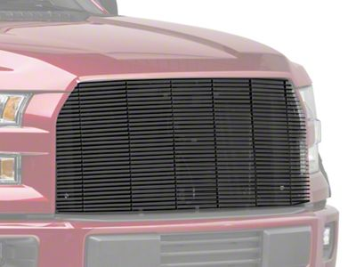 Billet Series Upper Replacement Grille - Black (15-17 All, Excluding Raptor)