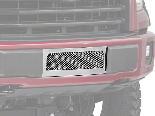 T-REX Upper Class Series Lower Bumper Mesh Grille Insert - Polished (15-17 F-150, Excluding Raptor)