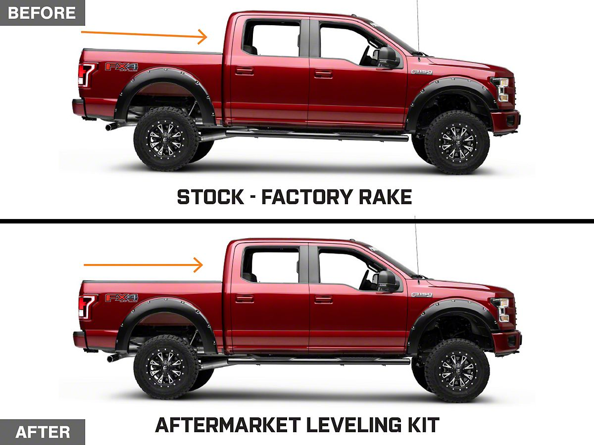 2015 Ram 1500 Leveling Kit >> Mammoth 2 5 In Front Leveling Kit 15 20 F 150 Excluding Raptor