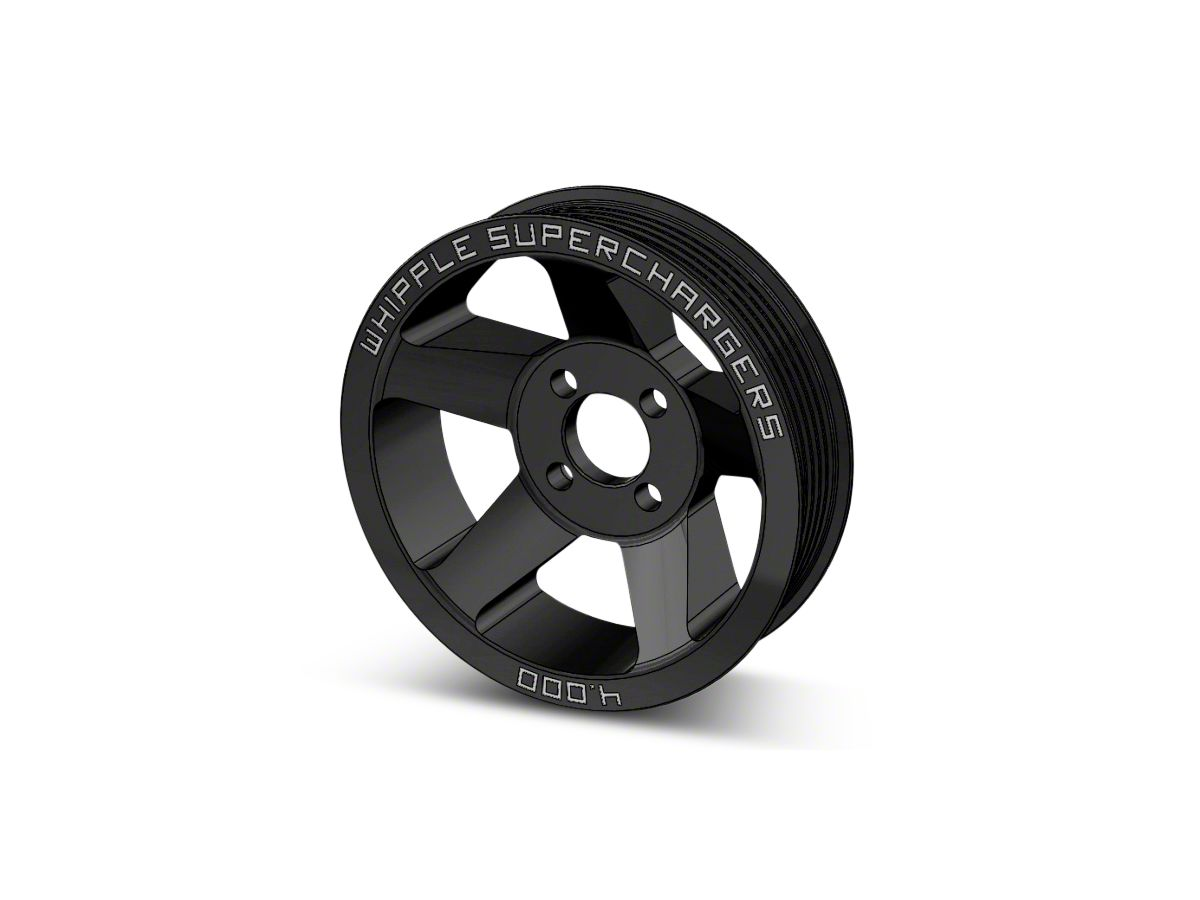 Whipple 6-Rib Supercharger Pulley (10-14 6 2L F-150 Raptor)