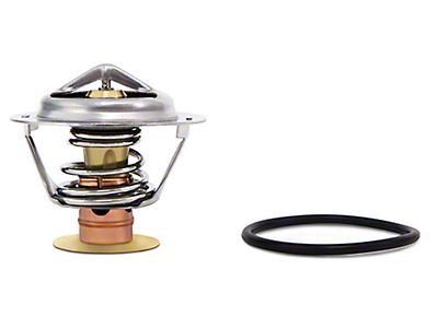 Mishimoto Performance Racing Thermostat - 160 Degree (11-17 2.7/3.5L EcoBoost, 3.5L, 3.7L, 5.0L, 6.2L)