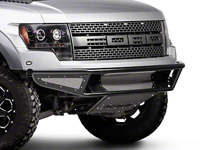 Rogue Racing Throttle Front Bumper w/ Mesh Side Skins (10-14 Raptor)