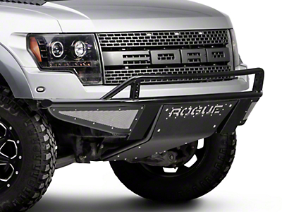 Rogue Racing Revolver Front Bumper w/ Mesh Side Skins (10-14 F-150 Raptor)