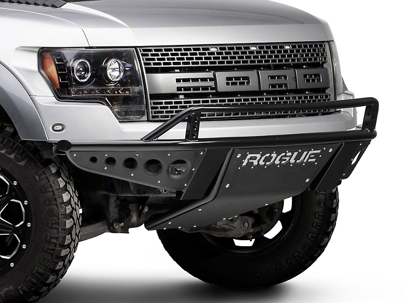 Rogue Racing Revolver Front Bumper w/ Dimple Side Skins (10-14 Raptor)