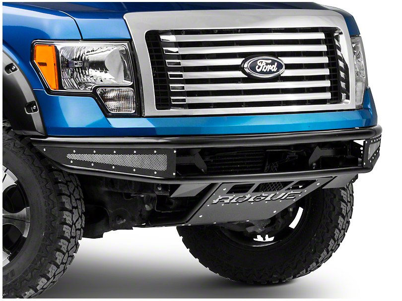 Rogue Racing Rebel Front Bumper w/ Mesh Side Skins (09-14 All)