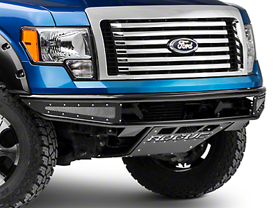 Rogue Racing Rebel Front Bumper w/ Mesh Side Skins (09-14 F-150)
