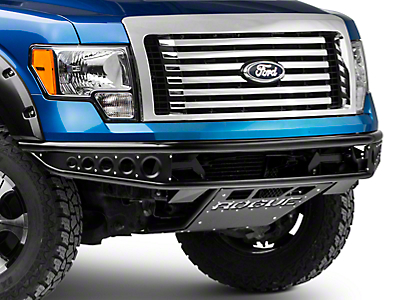 Rogue Racing Rebel Front Bumper w/ Dimple Side Skins (09-14 F-150)