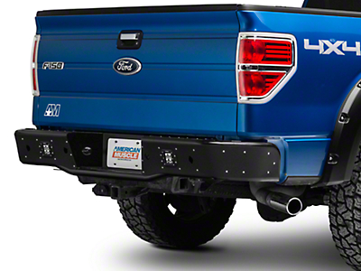 Rogue Racing Revolver Rear Bumper - Pre-Drilled for Backup Sensors (09-14 F-150)