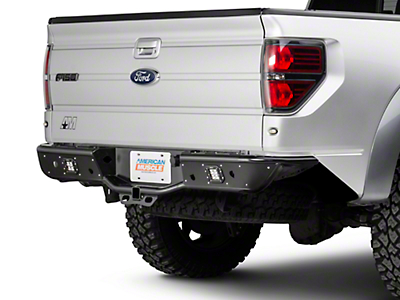 Rogue Racing Renegade Rear Bumper - Pre-Drilled for Backup Sensors (09-14 F-150)