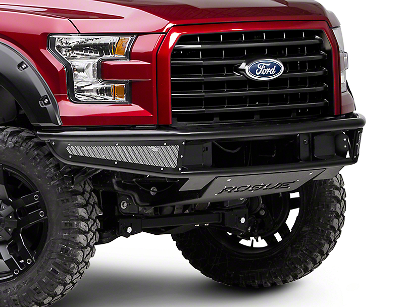 Rogue Racing Rebel Front Bumper w/ Mesh Side Skins (15-17 All, Excluding Raptor)