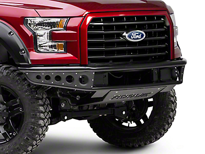 Rogue Racing Rebel Front Bumper w/ Dimple Side Skins (15-17 F-150, Excluding Raptor)