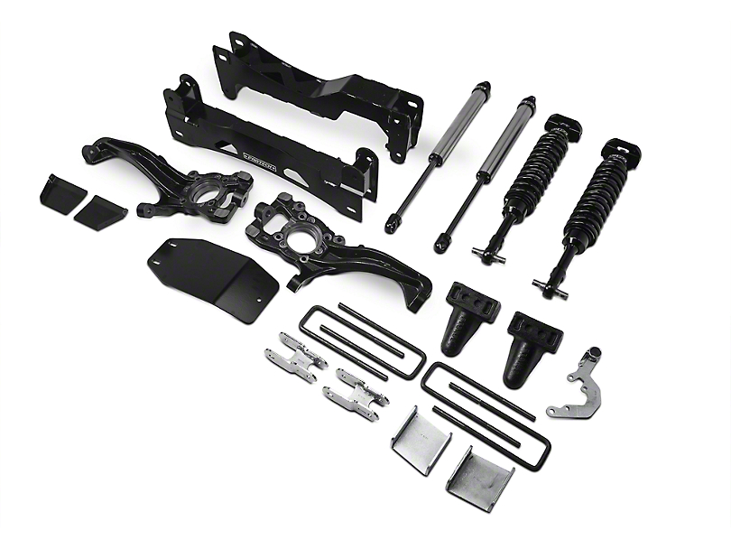 Fabtech 6-Inch Performance Suspension Lift Kit with Dirt Logic 2.5 Coil-Overs and Dirt Logic Shocks (15-20 4WD F-150 SuperCab, SuperCrew, Excluding Raptor)