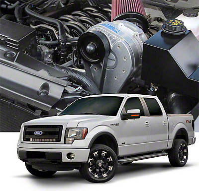 Procharger Stage II Intercooled Supercharger System w/ P-1SC-1 - Tuner Kit (11-14 5.0L F-150)