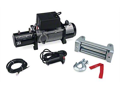 Barricade 9,500 lb. Winch (97-18 All)
