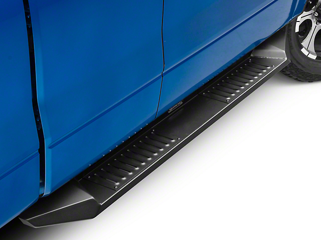 Barricade HD Steel Running Boards - Black (09-14 F-150 SuperCab, SuperCrew)